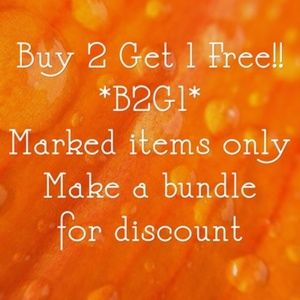 Other - Buy 2 Get 1 Free!!!